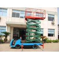 Wholesale Automatically telescopic truck mounted scissor lift with auxiliary platform lowering from china suppliers