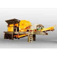 Quality ERYD Series Tyre Mobile Crushing Plant 50 T / H Capacity Mobile Crushing Equipment for sale