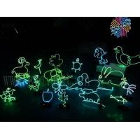 Wholesale magic neon el wire and inverter for making glowing diy toys from china suppliers