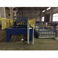 Wholesale Color Coating Coil Material PU Sandwich Panel Production Line Driven Power 7.5 KW from china suppliers