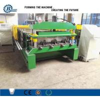 Wholesale Great Building Material High Speed Steel Profile Deck Floor Cold Roll Forming Machine from china suppliers