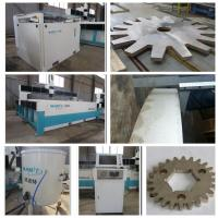 Buy cheap 2000*1000mm bridge type stainless steel waterjet cutting machine with 420Mpa pump from wholesalers