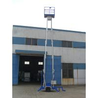 Wholesale Durable 200Kg Loading Hydraulic Lift Platform Towing Type Lifting 8m Dual Mast from china suppliers