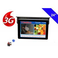 Wholesale Bus TV Monitors 24 Inch LCD Display with 3g network cloud managing system from china suppliers