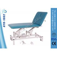 Wholesale Fold Up Height Adjustable Electric Medical Massage Table Two Functions from china suppliers