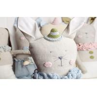 Wholesale Cute Customized comfortable stuffed Burlap doll Linen toys gift for kid / child from china suppliers
