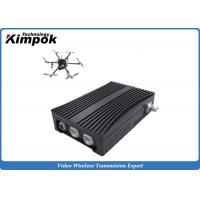 Wholesale Portable COFDM Transceiver Self-managing Network IP Mesh for UAV / Helicopter from china suppliers