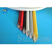 Wholesale Silicone rubber fiberglass sleeving Silicone fiberglass sleeving sleevings from china suppliers