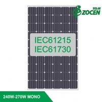 Wholesale 250-255 Watt Monocrystalline PV Solar Panels High Efficient for On-grid Solar System from china suppliers