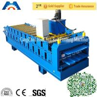 Wholesale Automatic Double Layer Roll Forming Machine Roofing Sheet PLC Frequency Control from china suppliers