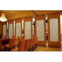 Wholesale Interior Sliding Door Acoustic Dining Room Dividers 500 / 1200mm Width from china suppliers