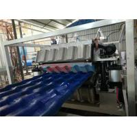 Wholesale Corrosion Resistant Roof Tile Making Machine 1040mm Plastic Extruder Machinery from china suppliers