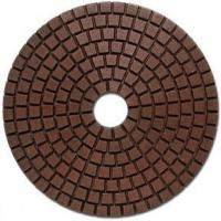 Wholesale Wet granite polishing pad standard shape from china suppliers