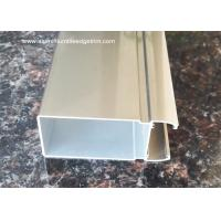 Buy cheap Electrophoresis Light Champagne Aluminium Side-hinged Door Profile For Washroom Door from wholesalers