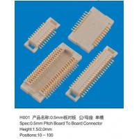 Wholesale SMD Female 0.5mm Pitch Board To Board Header Connector Double Rows Height 1.5MM from china suppliers