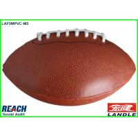 Wholesale Popular Classic Brown Official Size Rugby Ball with 4 Panels for Game from china suppliers