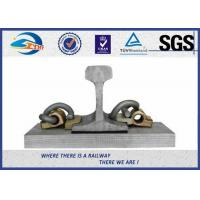 Quality Customized E Elastic Rail Clips HDG Steel 60Si2MnA as Track Part for sale