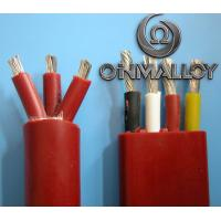 Wholesale Thermocouple Stranded Twisted tinned Copper silicone insulated wires 3x2.5 cross section from china suppliers