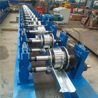 Wholesale Notch Punching Steel Door Frame Roll Forming Machine With 45 Degree Cut from china suppliers