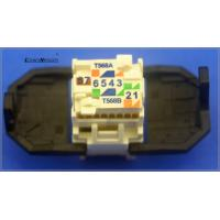 Wholesale 3M Cat6 Jack Module RJ45 UTP Jacks Pass Fluke test from china suppliers