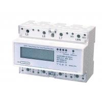 Wholesale Three Phase Four Wires Din Rail KWH Meter Active Energy With LCD Display from china suppliers
