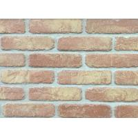 Wholesale 5D20-8 Handmade Clay Thin Veneer Brick For House Building Faux Brick Wall from china suppliers