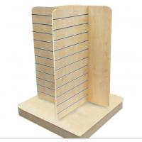 Wholesale Wood Slatwall Display Stands With Metal Hangers for Garment from china suppliers