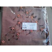 Wholesale SPUN POLYESTER EMBROIDERY SCARF from china suppliers
