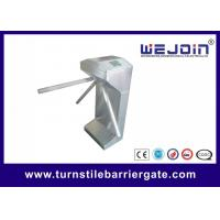 Wholesale Automatic pedestrian waist high economical security turnstile barrier gate from china suppliers