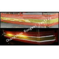 Wholesale Reflective Orange and Yellow Knitted Safety Barrier Fence / Plastic Mesh for Road and Street from china suppliers