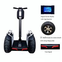 Wholesale Fashionable 2 Wheel Electric Stand Up Scooter With 2pcs Samsung Battery from china suppliers