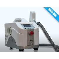Wholesale Black Portable Q- switched Laser Equipment for Birth Mark Removal / Eyeline cleaning from china suppliers