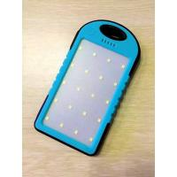 Wholesale Smart Blue Solar Power Banks Ultra Slim Lithium Batteries Type 165 X 88 X 20 mm from china suppliers