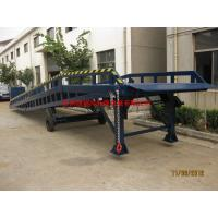 Wholesale Hand Control Movable Loading Ramp , Portable Loading Dock Ramps For Warehouse from china suppliers