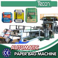 China Cement Bag Machines For Making Paper Bags , Automatic Deviation Rectifying System on sale