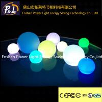 Quality Outdoor Decorative Floating Pool Ball Led Oval Light for sale