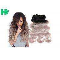 Wholesale 16 Inch Brazillian Human Remy Hair Extensions , Black Body Wave Hair from china suppliers