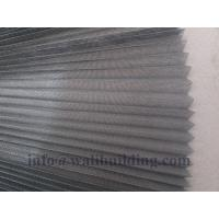 Quality fiberglass plisse insect screen for sale