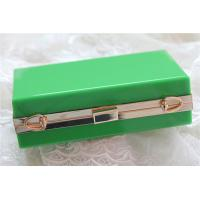 Wholesale Green lady acrylic makeup storage boxes Retangle With waterproof from china suppliers