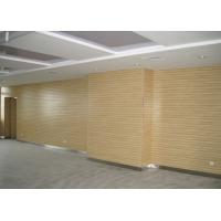 Quality Decorative Wooden Grooved Acoustic Panel , 2440 * 128 * 15mm for sale