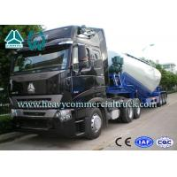 Wholesale High Efficiency Tri-axle V Shape Cement Bulker Trailer With Mechanical Suspension from china suppliers