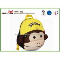 Wholesale OEM 3D Monkey Backpack Harness , Animal Toddler Backpacks For Boys from china suppliers