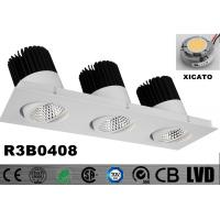 Wholesale High Lumens COB LED Down Light Triple - Head 3 * 30W 3 Years Warranty Ra 80 from china suppliers