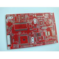 Wholesale High Density Multi Layer Printed Circuit Board Layout Silkscreen White , Copper Clad PCB from china suppliers