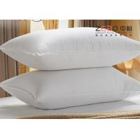 Wholesale 1100g White Color Hotel Comfort Pillows With Excellent Water Absorption from china suppliers