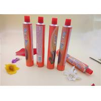 Wholesale Cream Aluminum Packaging Tubes , Food Squeeze Tubes With Printing from china suppliers