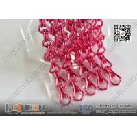 Pink Color 2.0mm Decorative Metal Mesh Curtain