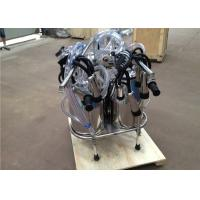 Wholesale Double Buckets Vacuum Manostat Cow Mobile Milking Machine With L80 Pulsator from china suppliers