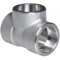 Wholesale Forged Alloy Steel Fittings , Stainless Steel Equal Tee A-182 / A105,Socketweld & Threaded from china suppliers