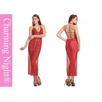 Wholesale ODM Summer transparent Mesh Sexy long gowns lingerie For Mature Sexy Women from china suppliers